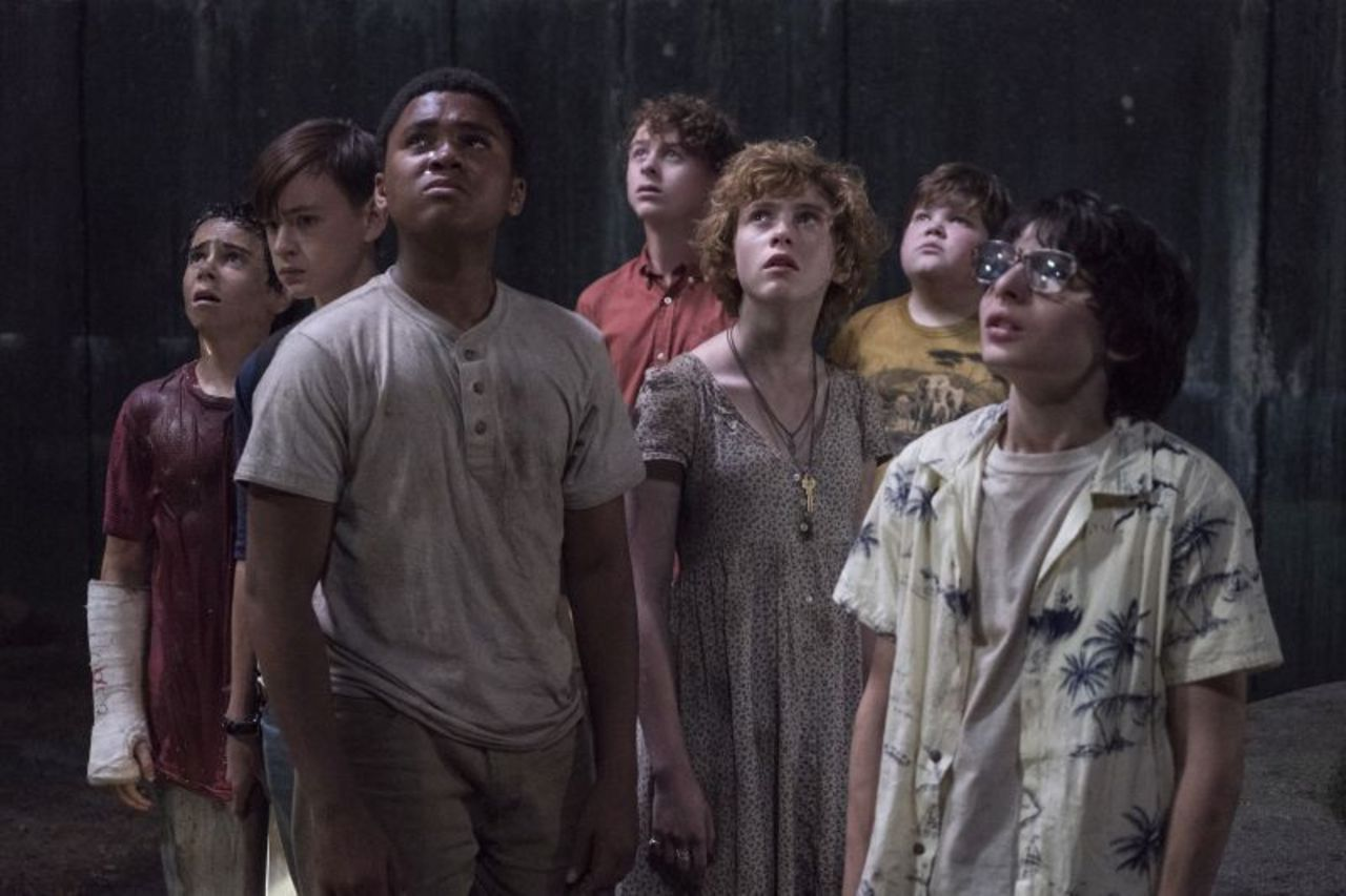 The losers club gathered together after defeating It in his hidden home.
