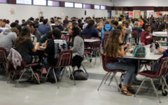 Cafeteria overcrowding causes problems