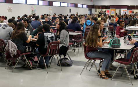 Cafeteria overcrowding causes problems