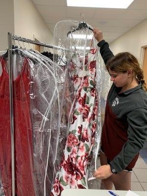 Senior Hannah Hooper created Cinderella's Closet.